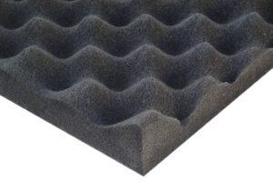 Noise absorbing foam