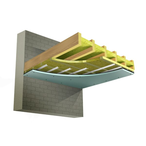 Soundproofing Ceiling System 1
