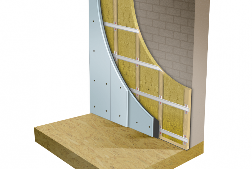 AcoustiClip Solid Wall | Stud System