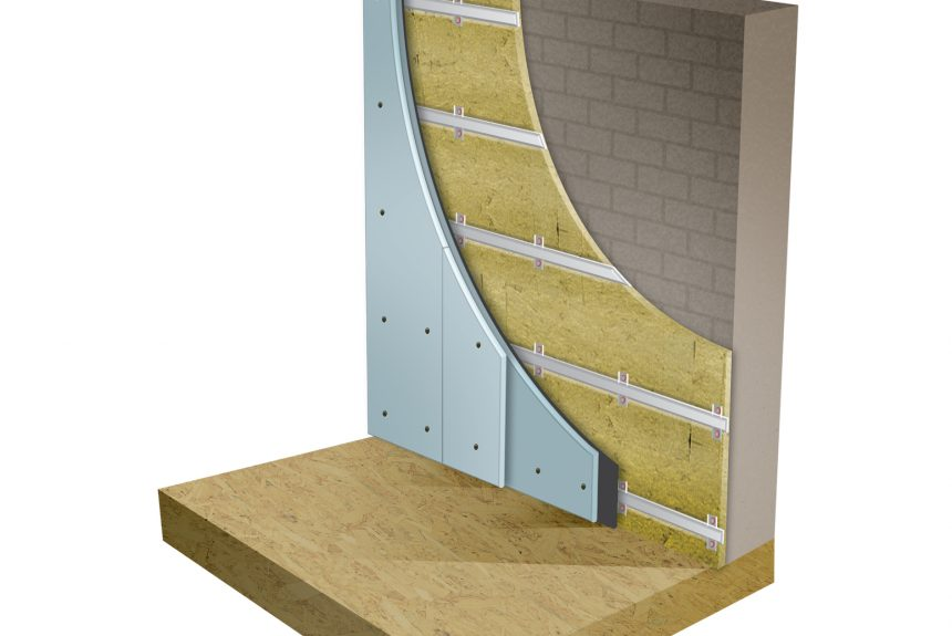 AcoustiClip Direct to Wall System